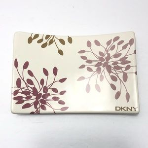 DKNY Ceramic Floral Soap Dish
